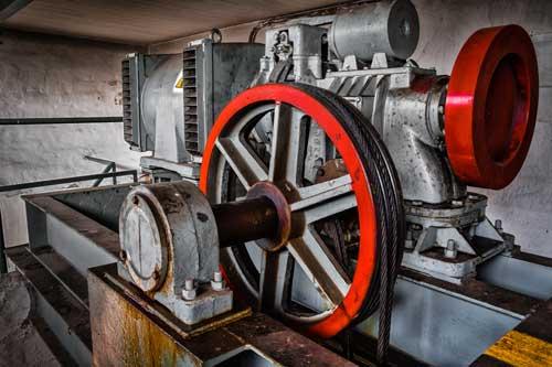 motore ascensore