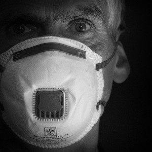 mascherina con filtro contro corona virus