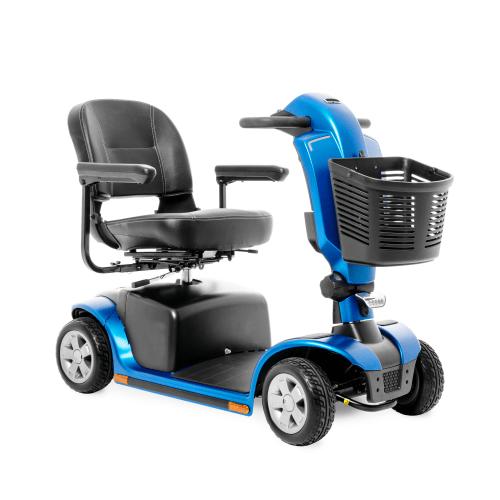 scooter elettrico per disabili blu