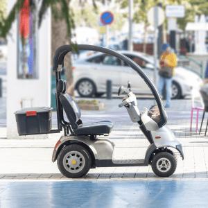 scooter elettrico per disabili cabinato