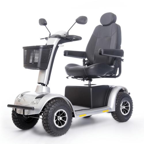 scooter elettrico per disabili grigio metallizzato