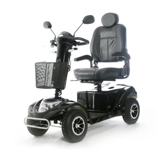 scooter elettrico per disabili nero